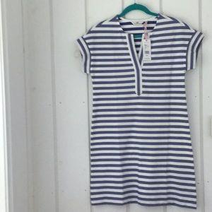 Vineyard Vines-Striped Tunic Swing Dress